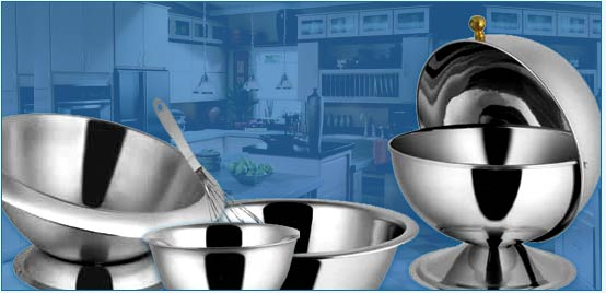 Manufacturers Stainless Steel Utensils India,Exporters Kitchen Utensils,Pet Accessories,Bar Items India